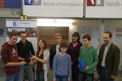 3-D-Würfelturm-Projekt im InfoSphere Aachen