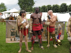 Römerfest Schwerter, Brot und Spiele
