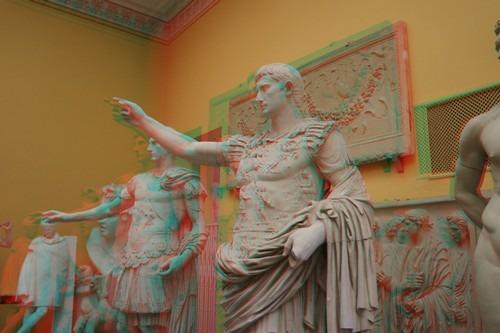 Augustus von Prima Porta - hier ein Gipsabguss im Akademischen Kunstmuseum Bonn