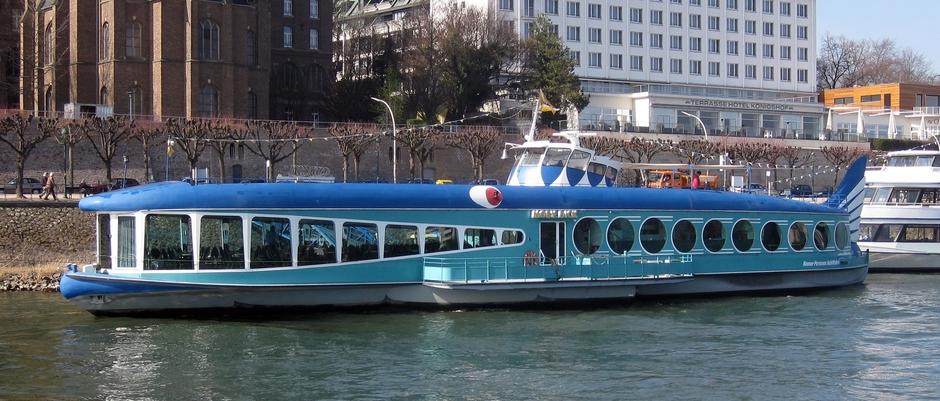 Moby Dick - Ausflugsschiff der Bonner Personen Schiffahrt