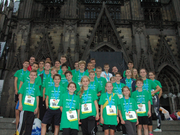 Das Ziel ist der Dom! - RheinEnergieMarathon Köln 2014