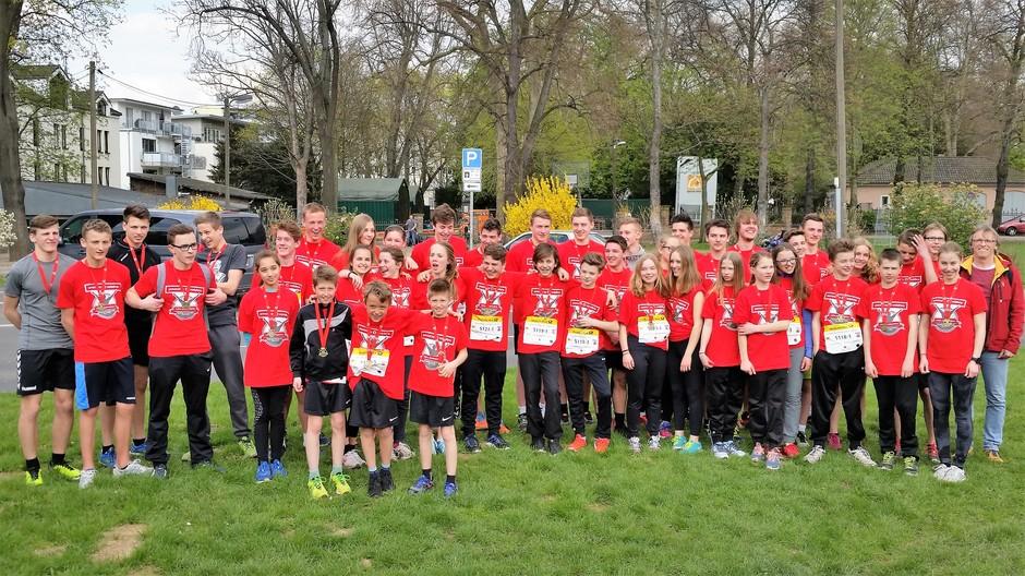43 Schülerinnen und Schüler - HGG-Teilnehmerrekord!