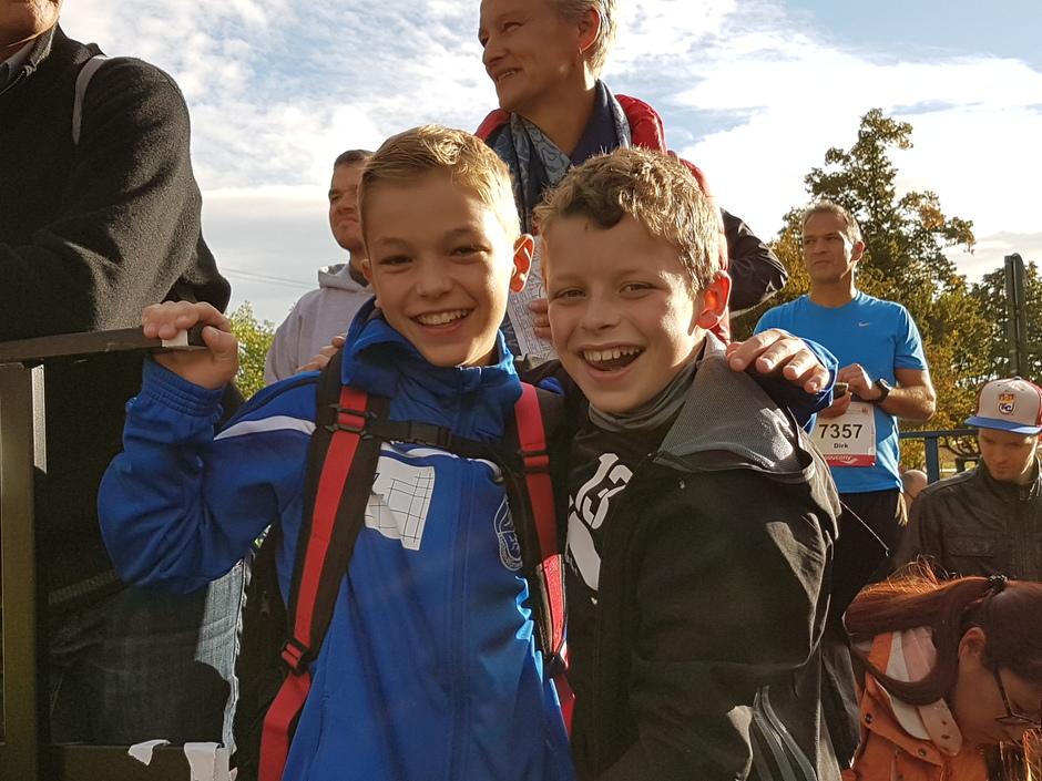 Die jungen Wilden - eine Bereicherung für die Zukunft der Marathon-AG!