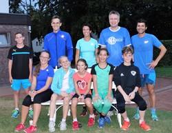 Marathon-AG trainiert mit Mussa Hudrog