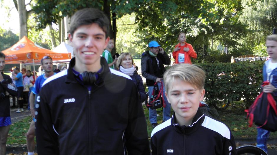 Groß und klein vereint - so geht Staffelmarathon!