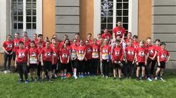Mit 3 Podestplätzen erfolgreichstes Schulmarathon-Team
