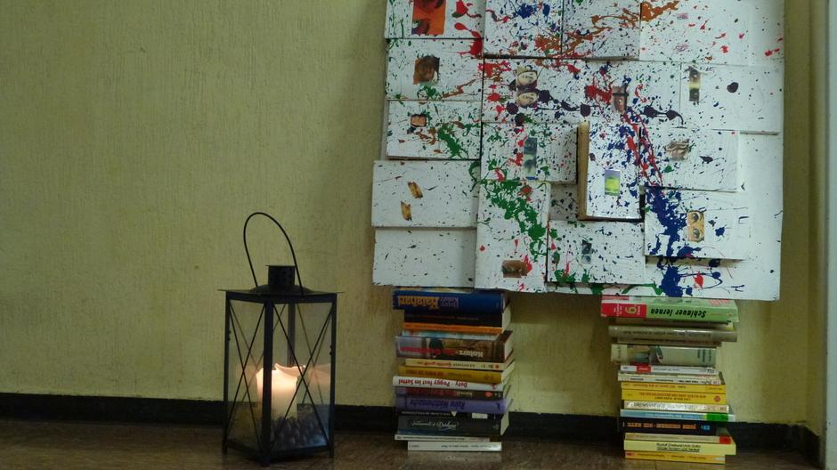 Buch und Kunst - eine Schülerarbeit