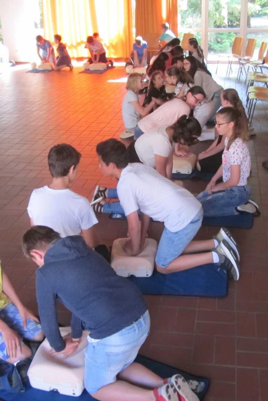 In Partnerarbeit wurde aus dem Pädagogischen Zentrum ein Medizinisches Zentrum.