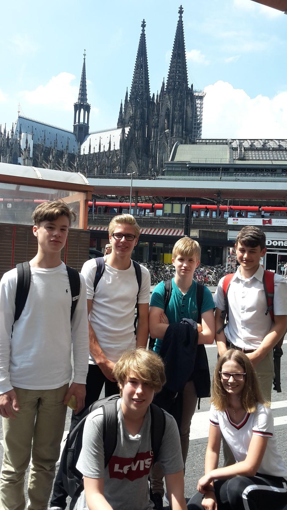 Team Thermomix nach der Ankunft in Köln