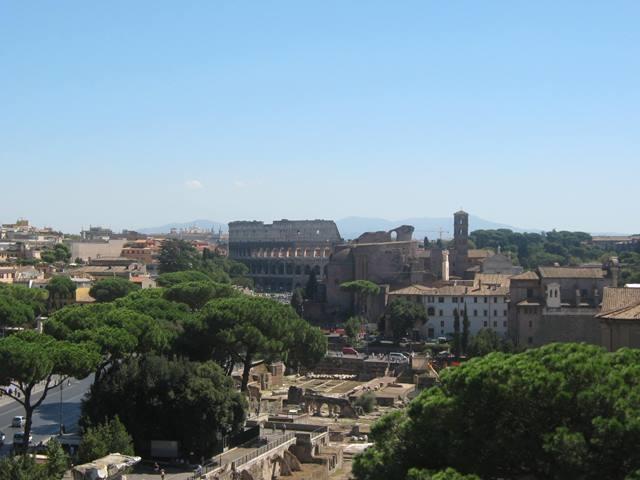 Ein Blick über Rom.