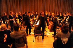 Orchester und Vororchester