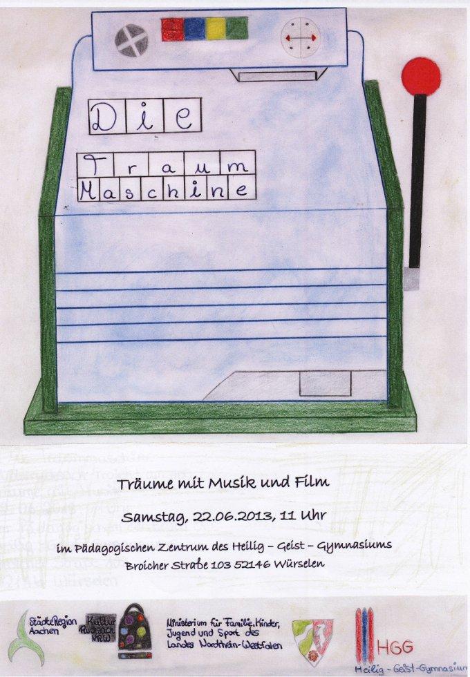 Plakat TraumMASCHINE
