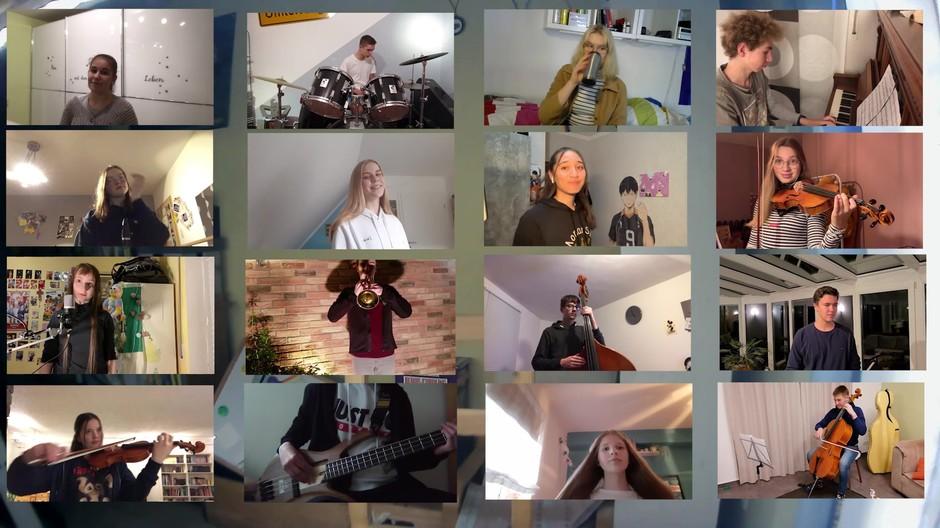 Viva la vida! Das Video zum schuleigenen Cover ist fertig!