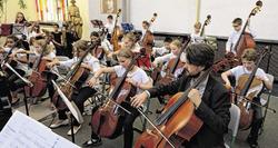 Musik-Klassen und Unterstufenchor stellen ihr können unter Beweis