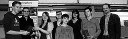Schüler bilden römischen Würfelturm mit neuer Technik nach
