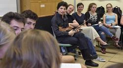 Musikunterricht mit Stradivari