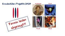 Absage der Grundschüler-Projekte am 7.11.