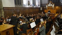 Konzertreise Oberstufenchor und Orchester