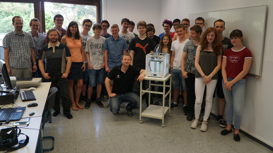 3D-Drucker-Projekt gestartet