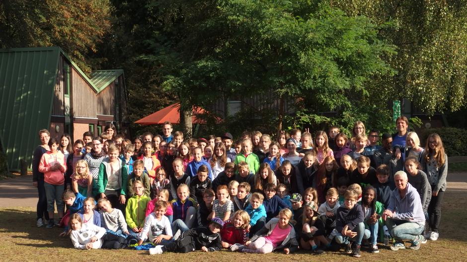 Klassenfahrt der Jahrgangsstufe 6 nach Hinsbeck im September