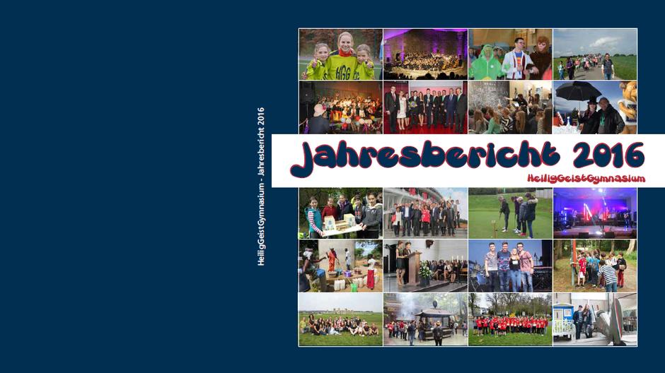 Der neue Jahresbericht ist da!