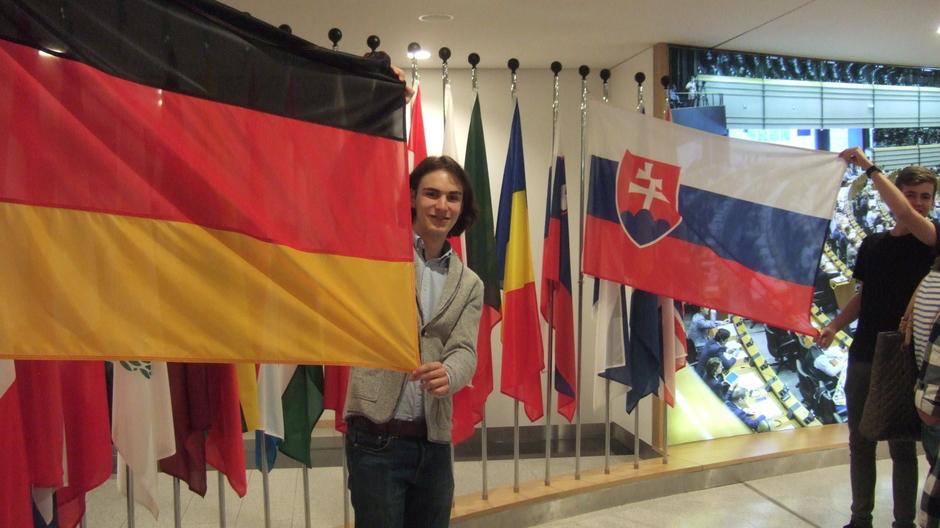 Slowakische Gastschüler zu Besuch