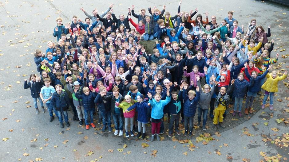 140 Grundschüler entdecken das HGG