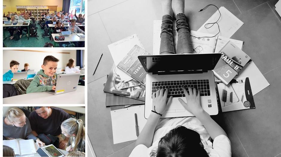 Digital gestütztes Lernen in der Schule und zuhause
