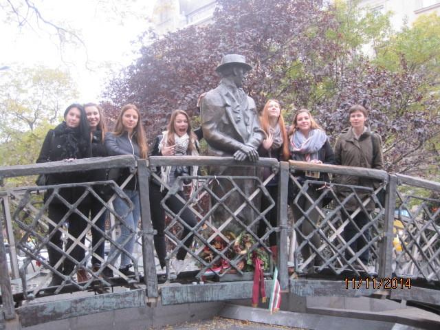 Denkmal für Imre Nagy in Budapest