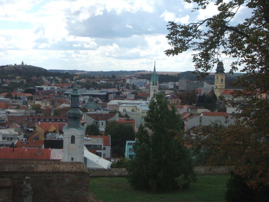 Blick auf Nitra